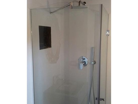 box doccia in vetro su misura