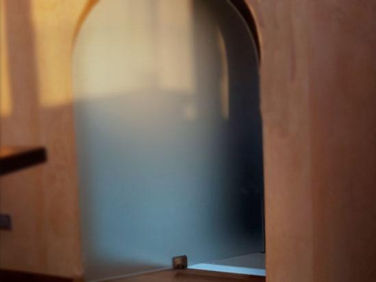 porta vetro su misura
